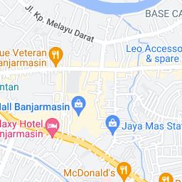 Where is Banjarmasin in Kalimantan Selatan, Indonesia located?